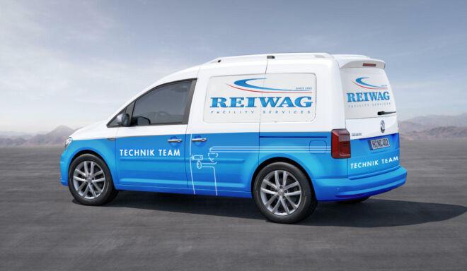 Branding VW Caddy Reiwag