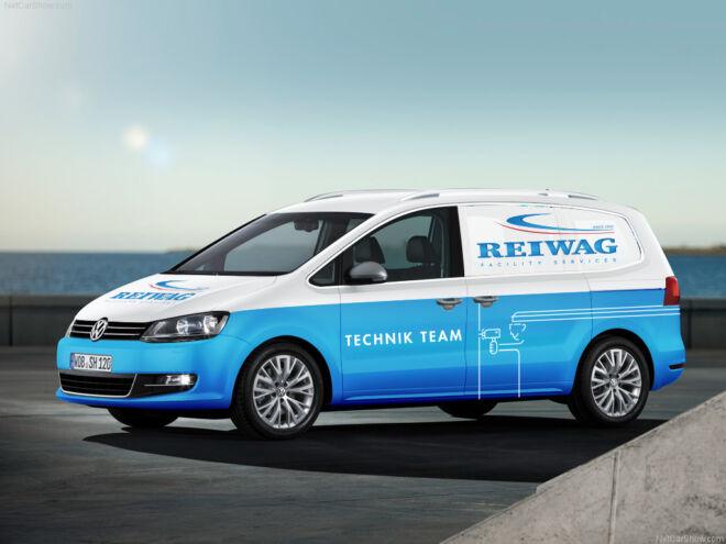 Branding VW Transporter Reiwag 2