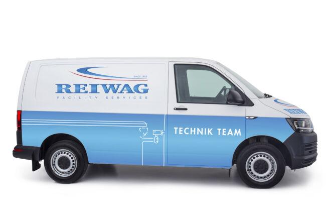 Branding VW Transporter Reiwag